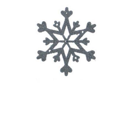 Σετ 2τχ Κρεμαστό στολίδι χιονονιφάδα Γαλάζιο (Σχέδιο 03) 12cm