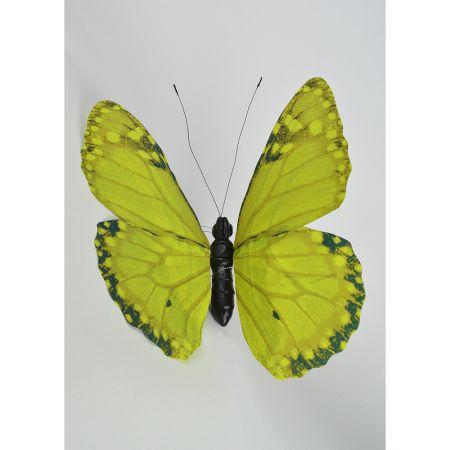 Διακοσμητική πεταλούδα Πράσινη 50cm