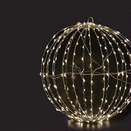 Φωτιζόμενη μπάλα 360microLED IP44 40cm