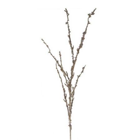 Κλαδί Λυγαριάς με διαμαντάκια σαμπανί, 101cm