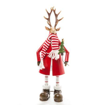 Διακοσμητικός Χριστουγεννιάτικος τάρανδος 41cm