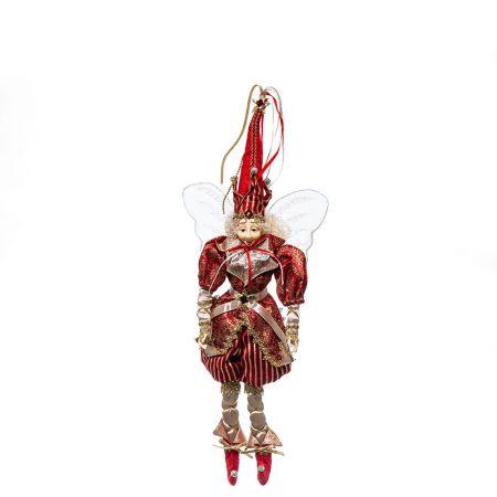 Χριστουγεννιάτικο ξωτικό - αρλεκίνος 38cm