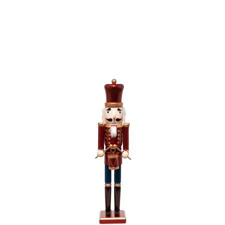 Ξύλινος Καρυοθραύστης, Μολυβένιος στρατιώτης Μπορντό 13x11x61cm