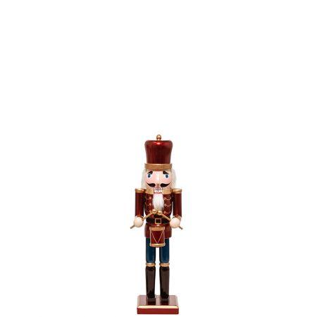 Ξύλινος Καρυοθραύστης, Μολυβένιος στρατιώτης Μπορντό 9x8x38cm