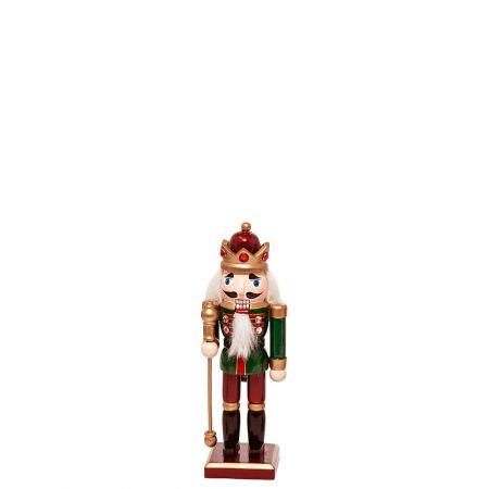 Ξύλινος Καρυοθραύστης, Μολυβένιος στρατιώτης Πράσινος 8x6x30cm