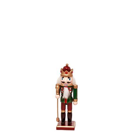 Ξύλινος Καρυοθραύστης, Μολυβένιος στρατιώτης Πράσινος 6x5x20cm