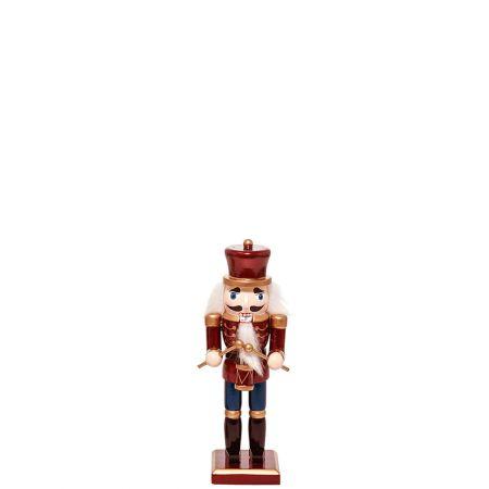 Ξύλινος Καρυοθραύστης, Μολυβένιος στρατιώτης Μπορντό 6x5x20cm