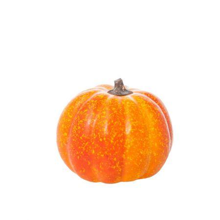 Διακοσμητική κολοκύθα Πορτοκαλί 11x10cm