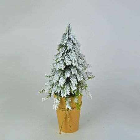 Χριστουγεννιάτικο δεντράκι mini σε craft χαρτί 33cm