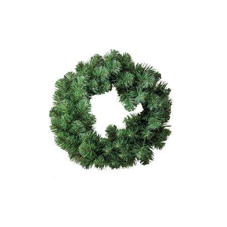 Χριστουγεννιάτικο στεφάνι PVC 40cm