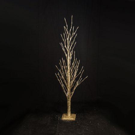 Φωτιζόμενο δέντρο Χρυσό με 150LED 150cm