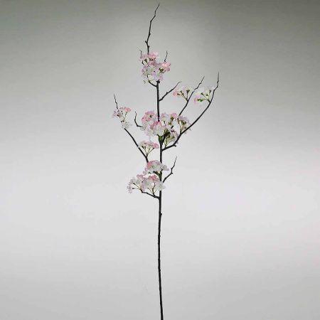 Διακοσμητικό κλαδί με άνθη ροδακινιάς Ροζ 120cm