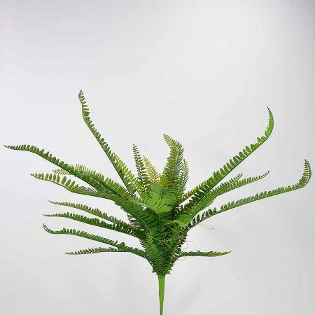 Τεχνητό μπουκέτο - δέσμη με φύλλα φτέρης 40cm