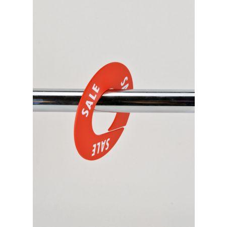 SALE Σετ 10τμχ Διαχωριστικά Προσφορών 8.5cm Κόκκινο-Λευκό
