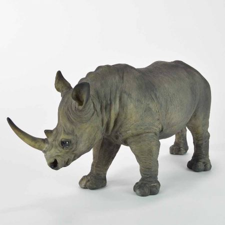 Διακοσμητικός ρινόκερος 16x53x25cm