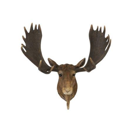 Διακοσμητικό κεφάλι Ταράνδου 21x44x38cm