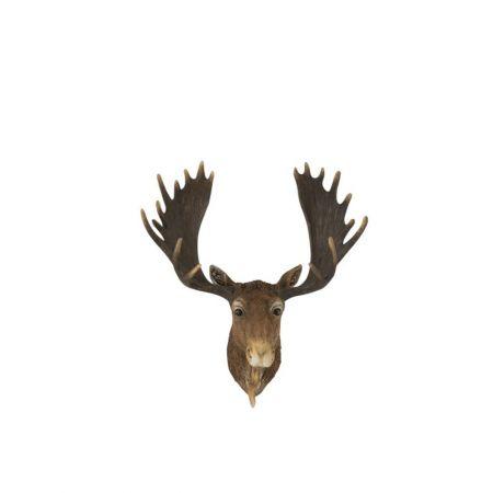 Διακοσμητικό κεφάλι Ταράνδου 16x37,5x31cm