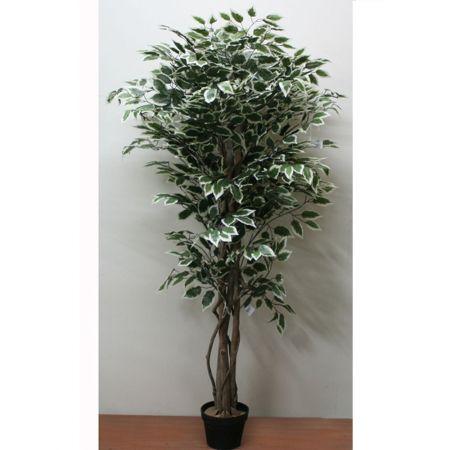 Τεχνητό δέντρο φίκος - Benjamini δίχρωμο σε γλάστρα 150cm