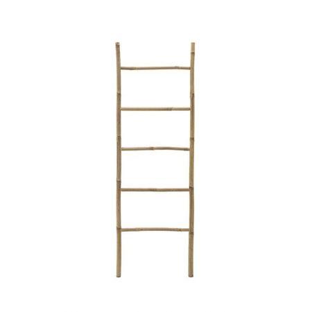 Διακοσμητική Σκάλα Μπαμπού - 5 Πατήματα Φυσικό 150x50cm