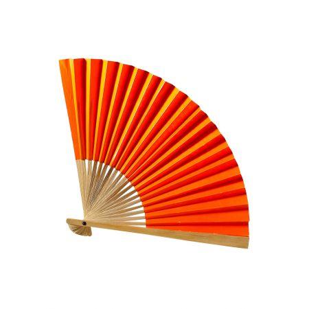 Διακοσμητική βεντάλια χάρτινη Πορτοκαλί 42cm