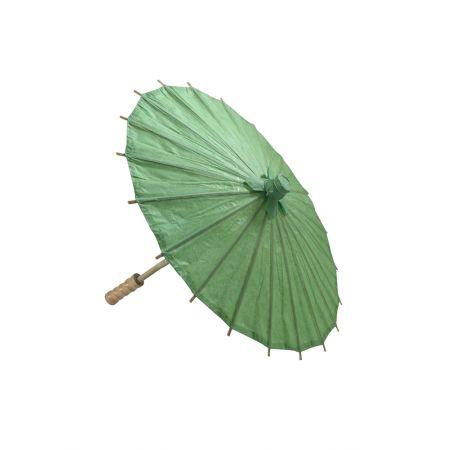 Διακοσμητική Χάρτινη ομπρέλα Πράσινη 40cm