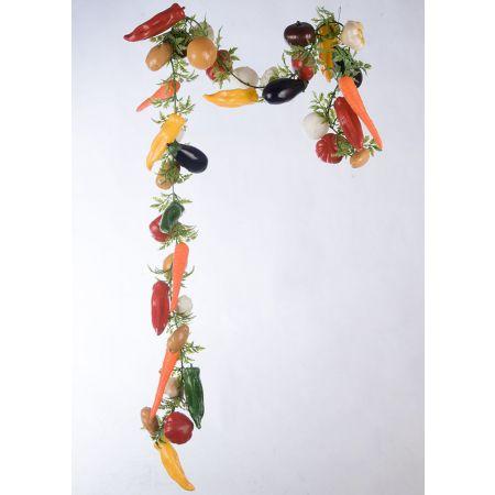 Διακοσμητική γιρλάντα με διάφορα λαχανικά 200cm