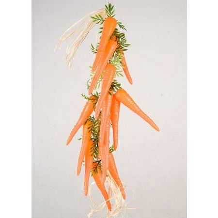 Διακοσμητική πλεξούδα με καρότα 50cm