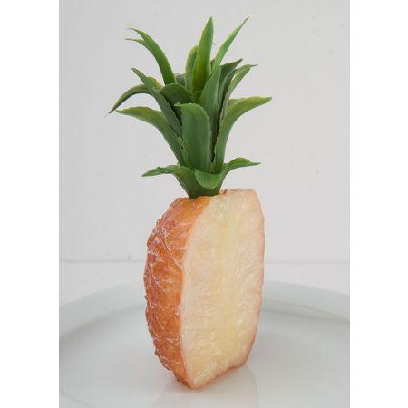 Διακοσμητικός μισός ανανάς 21x10cm