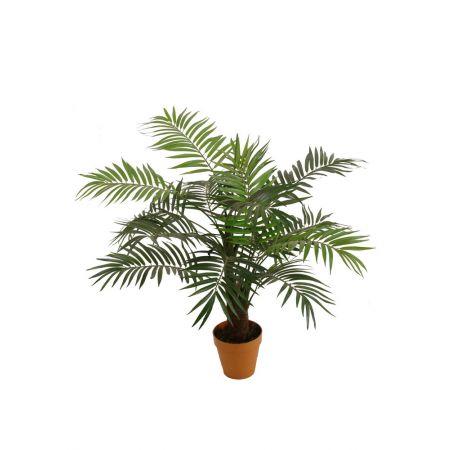 Διακοσμητικό τεχνητό δέντρο Areca σε γλάστρα 90cm