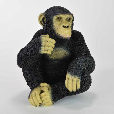 Διακοσμητικός χιμπατζής που κάθεται 29x25x24cm