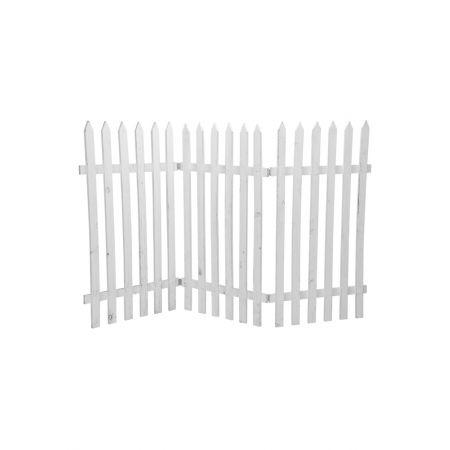 Διακοσμητικός φράκτης 90x150cm - Λευκό