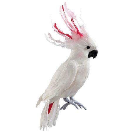 Διακοσμητικός παπαγάλος Κακατούα, 55cm