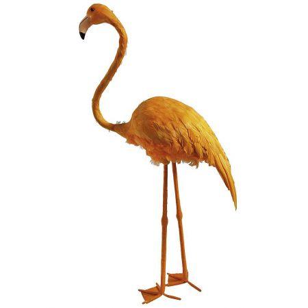 Διακοσμητικό Φλαμίνγκο Κίτρινο 83cm