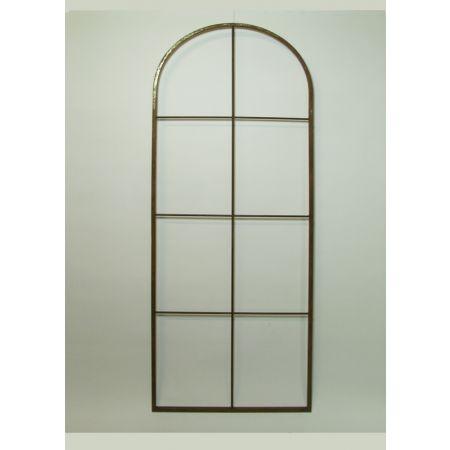 Διακοσμητικό Παράθυρο Μεταλλικό 60x170cm