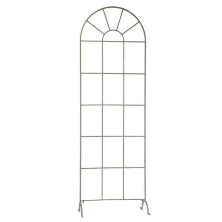 Διακοσμητικό Μεταλλικό Παράθυρο-Αψίδα 197x64x35cm