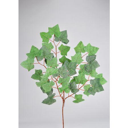 Διακοσμητικό τεχνητό κλαδί με φύλλα Κισσού 70cm