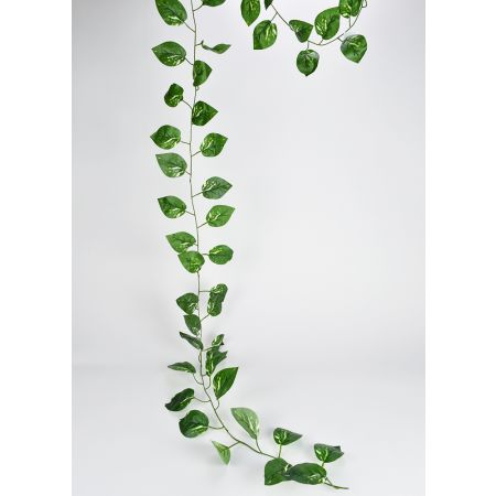 Διακοσμητική γιρλάντα Πόθος Πράσινη 300cm