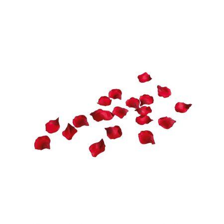 Σετ 100τμχ υφασμάτινα ροδοπέταλα Κόκκινα 6cm