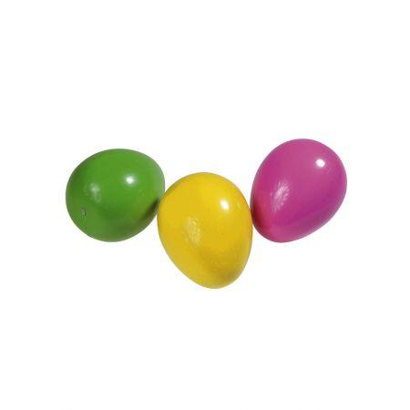Σετ 3τχ Πολύχρωμα Πασχαλινά αυγά 15cm