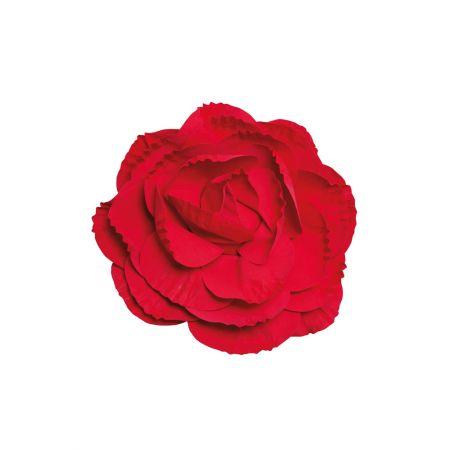 XL Διακοσμητικό άνθος τριαντάφυλλου Κόκκινο 50cm
