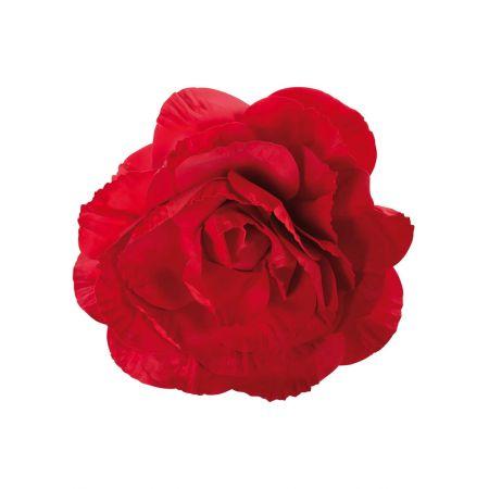 XL Διακοσμητικό άνθος τριαντάφυλλου Κόκκινο 80cm