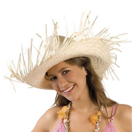 Διακοσμητικό Καπέλο Ψάθινο CARIBBEAN 38x32cm