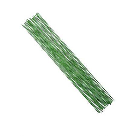 Σετ 100gr Σύρμα Ανθοδετικής Πράσινο 0.7mmx35cm