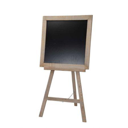 Διακοσμητικός Μαυροπίνακας σε καβαλέτο 60x54x116cm