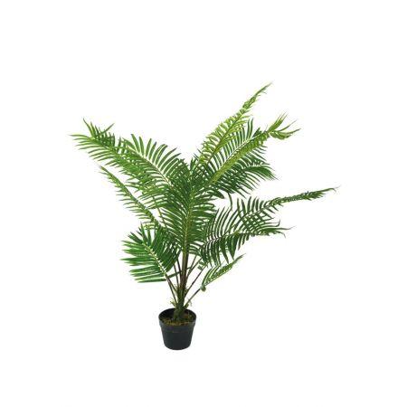Διακοσμητικό Τεχνητό φυτό Αρέκα σε γλάστρα 70cm