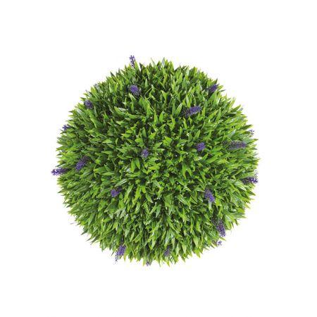 Διακοσμητική τεχνητή μπάλα - Λεβάντα 48cm