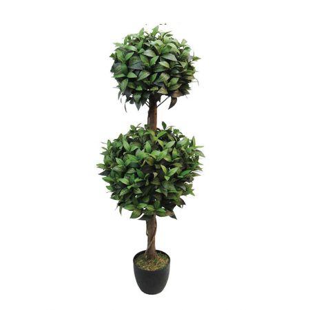 Τεχνητό φυτό Bay Tree μπάλα διπλή σε γλάστρα 120cm