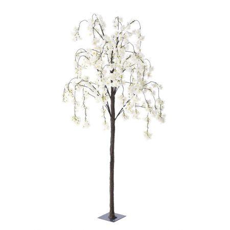 Τεχνητό δέντρο Αμυγδαλιά με Κρεμ άνθη 180cm