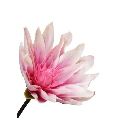 XL Διακοσμητικό λουλούδι Νούφαρο Ροζ 127x50cm
