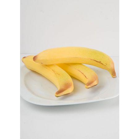Σετ 3τχ Μεγάλες διακοσμητικές μπανάνες 19x4cm